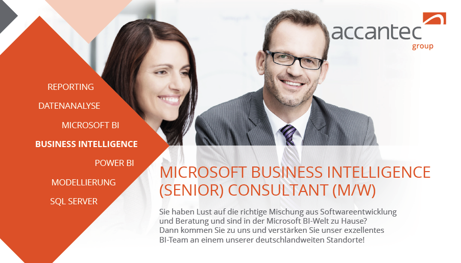accantec microsoft business intelligence consultant