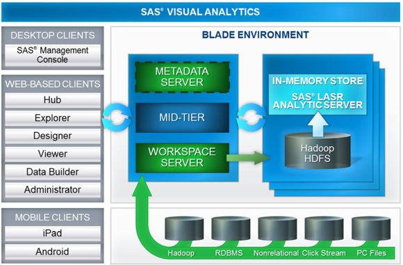 SAS Visual Analytics Blade Environment
